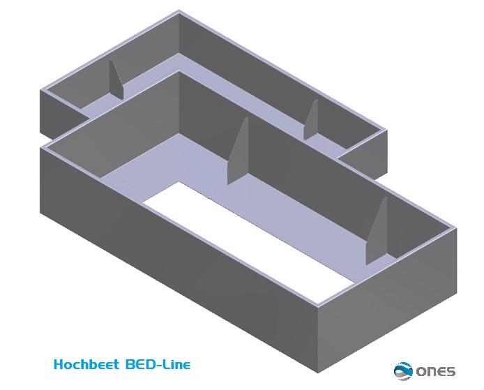Hochbeete bed line ones gmbh oliver nagel engineering for Boden mit schrift